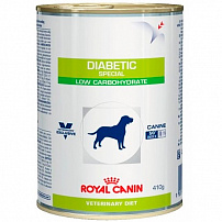 Роял Канин (Royal Canin) diabetic special консервы для собак диета при сахарном диабете 12 шт по 410 г