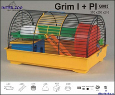 INTER-ZOO клетка для грызунов grim 37 * 25 * 21 см